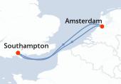 Southampton, Navegación, Amsterdam, Amsterdam, Southampton