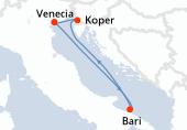 Venecia, Bari, Koper, Venecia