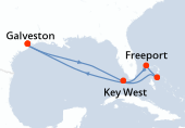 Galveston, Navigation, Key West, Freeport, Nassau, Navigation, Navigation, Galveston