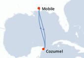 Mobile, Navigation, Cozumel, Navigation, Mobile