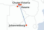 Johannesburg, Johannesburg, Johannesburg, Kasane, Kasane, Kasane, Kasane, Parc National Chobe, Parc National Chobe, Parc National Chobe, Parc National Chobe, Chutes Victoria, Chutes Victoria