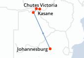 Johannesburg, Johannesburg, Johannesburg, Parc National Chobe, Parc National Chobe, Parc National Chobe, Parc National Chobe, Kasane, Kasane, Kasane, Kasane, Chutes Victoria, Chutes Victoria
