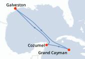 Galveston, Navigation, Navigation, Grand Cayman, Cozumel, Navigation, Galveston