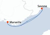 Marseille, Savone, Marseille