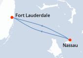 Fort Lauderdale, Nassau, Fort Lauderdale