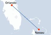 Orlando, Navigation, Nassau, Orlando