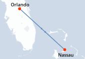Orlando, Nassau, Orlando