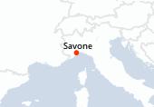 Savone, Navigation