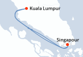 Singapour, Navigation, Kuala Lumpur, Singapour
