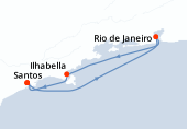 Santos, Rio de Janeiro, Ilhabella, Santos